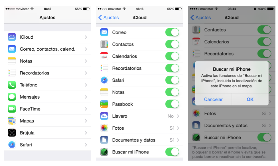 Funciones en tu Apple iPhone 6