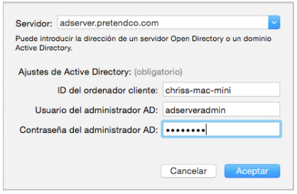 Integrating mac os x with active directory