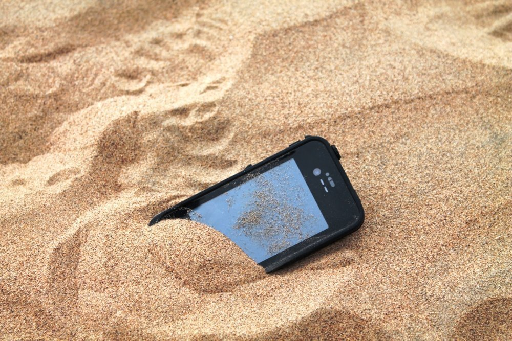 iphone-perdido-playa