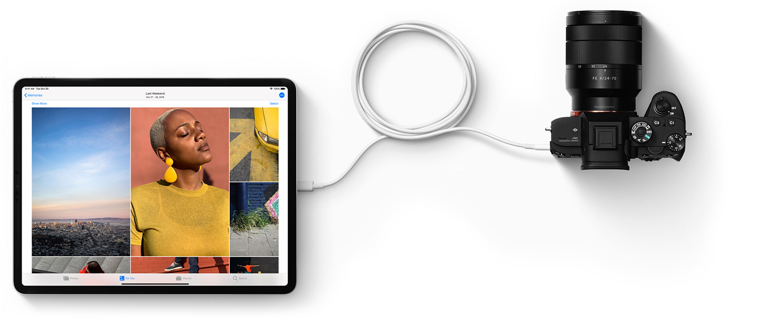 iPAd-Pro-USB-C-camera-connection